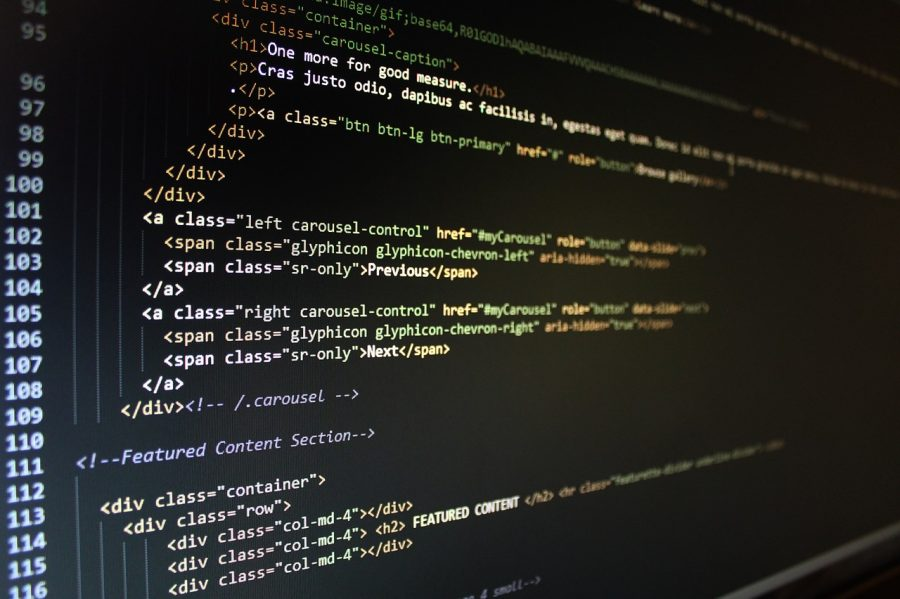 Website HTML and CSS code