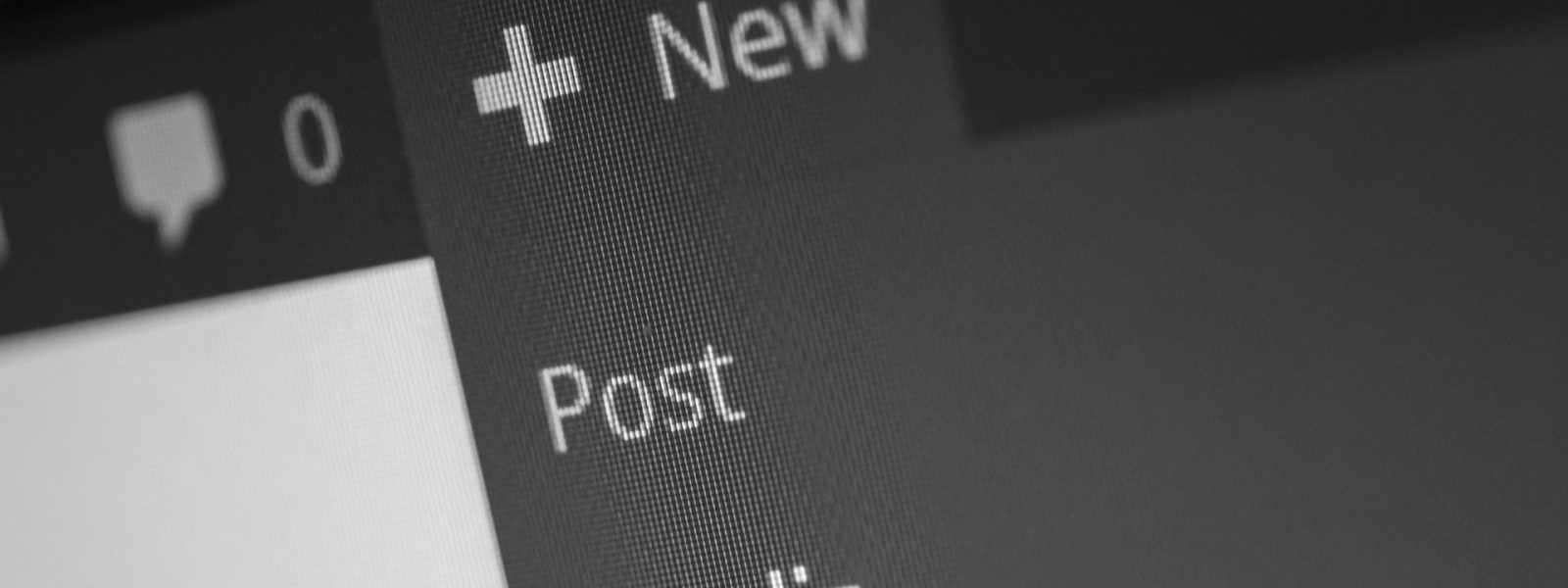 creating new Wordpress post content